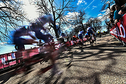 March 9, 2019 - Siena, Italia - Gian Mattia D'Alberto / lapresse.09-03-2019 Siena.Sport.Gara ciclistica Strade Bianche 2019 .nella foto: partenza gara uomini..Gian Mattia D'Alberto  / lapresse.2019-03-09 Siena.Strade Bianche 2019 .in the photo: men's race  start. (Credit Image: © Gian Mattia D'Alberto/Lapresse via ZUMA Press)