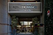 Londyn, 2009-10-23. Królewska Giełda w londyńskim City.
