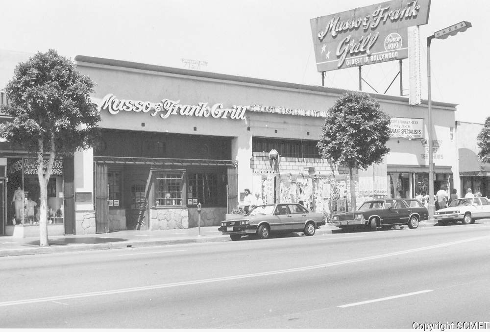 1987 Musso & Frank Grill