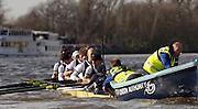 Putney, London, ENGLAND, 02.04.2006, 2006, Varsity,Boat Race, Oxford,  © Peter Spurrier/Intersport-images.com.[Mandatory Credit Peter Spurrier/ Intersport Images] 2006, Varsity Boat Race,  Varsity, Boat race. Rowing Course: River Thames, Championship course, Putney to Mortlake 4.25 Miles