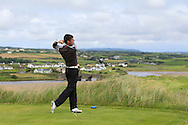 Greg Mungovan (Headfort) on the 9th tee during Matchplay Round 1 of the South of Ireland Amateur Open Championship at LaHinch Golf Club on Friday 22nd July 2016.<br /> Picture:  Golffile | Thos Caffrey<br /> <br /> All photos usage must carry mandatory copyright credit   (© Golffile | Thos Caffrey)