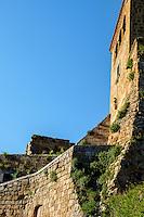 CIVITA DI BAGNOREGIO ITALY - CIRCA MAY 2015: View of Civita di Bagnoregio.