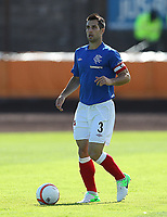 Football - Division Three -  Berwick Rangers vs Rangers<br /> <br /> <br /> Carlos Bocanegra of Rangers in action during the Irn Bru Division Three match  August 26th 2012<br /> <br /> Norway only