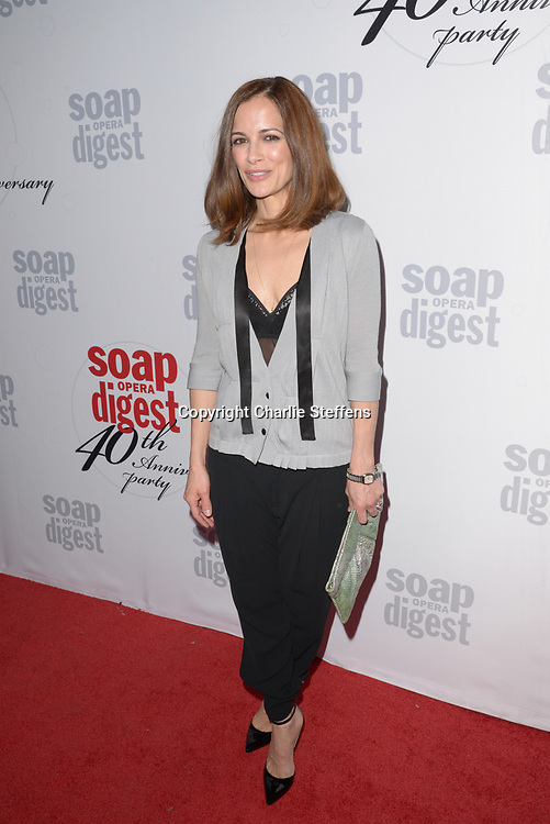 REBECCA BUDIG at Soap Opera Digest's 40th Anniversary party at The Argyle Hollywood in Los Angeles, California