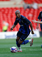 Photo: Steve Bond/Richard Lane Photography. Nottingham Forest v Sunderland. Pre Season Friendy. 29/07/2008. El Hadji Diouf controls the ball