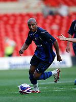 Photo: Steve Bond/Richard Lane Photography. Nottingham Forest v Sunderland. Pre Season Friendy. 29/07/2008. El Hadji Diouf controls the ball