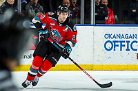 KELOWNA, BC - MARCH 11: Matthew Wedman #20 of the Kelowna Rockets skates during second period against the Victoria Royals at Prospera Place on March 11, 2020 in Kelowna, Canada. Wedman was selected in the 2019 NHL entry draft by the Florida Panthers. (Photo by Marissa Baecker/Shoot the Breeze)