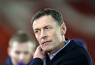 BT Sport presenter Chris Sutton looks on during the Under 21 International Friendly match at the St Mary's Stadium, Southampton. Picture date November 10th, 2016 Pic David Klein/Sportimage