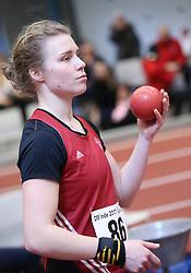 Anna Sofia Mikkelsen. Danske Mesterskaber indendørs i atletik 2017  i Spar Nord Arena, Skive, Denmark, 18.02.2017. Photo Credit: Allan Jensen/EVENTMEDIA.