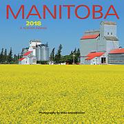 PRODUCT: Calendar<br /> TITLE: Manitoba Mini 2018<br /> CLIENT: Wyman Publications / Browntrout Canada