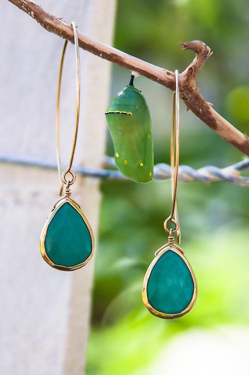 Turquoise Earrings Noelani Designs