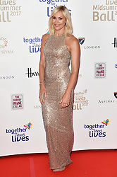 © Licensed to London News Pictures. 07/06/2017. London, UK. JENNI FALCONER attends the Together for Short Lives Midsummer Ball. Photo credit: Ray Tang/LNP