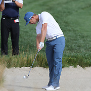 Kevin Chappell in action during the third round of theThe Barclays Golf Tournament at The Ridgewood Country Club, Paramus, New Jersey, USA. 23rd August 2014. Photo Tim Clayton