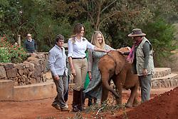 October 5, 2018 - Nairobi, Kenya - First Lady Melania Trump visits baby elephants at the Sheldrick Elephant Orphanage  (Credit Image: ? Andrea Hanks/White House via ZUMA Wire/ZUMAPRESS.com)