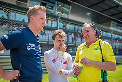 08.06.2019, Red Bull Ring, Spielberg, AUT, ADAC GT Masters Spielberg, Rennen, im Bild Lucas Auer (AUT) Mercedes AMG GT3 // Austrian ADAC GT Masters driver Lucas Auer Mercedes AMG GT3 during the race for the ADAC GT Masters at the Red Bull Ring in Spielberg, Austria on 2019/06/08. EXPA Pictures © 2019, PhotoCredit: EXPA/ Dominik Angerer