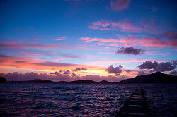 Sunset from Turtle Island, Yasawa Islands, Fiji