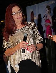 Nksoi Heaven founder Gail Johnson speaking at the fund raising gala dinner held at Marble Rescurant , Rosebank, Johannesburg. 21 September 2017