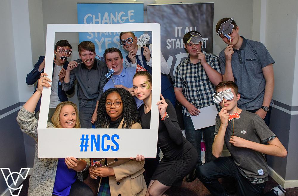 Cohort 1 - Team 1   NCS EM1 graduation ceremony held at The Castle Theatre, Wellingborough, Northamptonshire.<br /> <br /> Picture: Chris Vaughan Photography<br /> Date: September 13, 2017