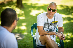 Rok Predanic, former Slovenian athlete and coach, interviewed Siol Sportal, on July 10, 2020 in ZAK, Ljubljana, Slovenia. Photo by Vid Ponikvar / Sportida