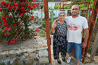 Ahmed and Suleibeh Ilyas, Villagers in the Arda river valley, Eastern Rhodope mountains, Bulgaria