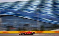 September 28, 2018 - Sochi, Russia - Motorsports: FIA Formula One World Championship 2018, Grand Prix of Russia, .#5 Sebastian Vettel (GER, Scuderia Ferrari) (Credit Image: © Hoch Zwei via ZUMA Wire)