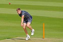 CHESTER LE STREET, ENGLAND - August 07: James Faulkner during the Australian team official training session prior to the Investec Ashes 4th test match at The Emirates Riverside Stadium, on August 07, 2013 in London, England. (Photo by Mitchell Gunn/ESPA)(Credit Image: © ESPA Photo Agency/Cal Sport Media/ZUMAPRESS.com)