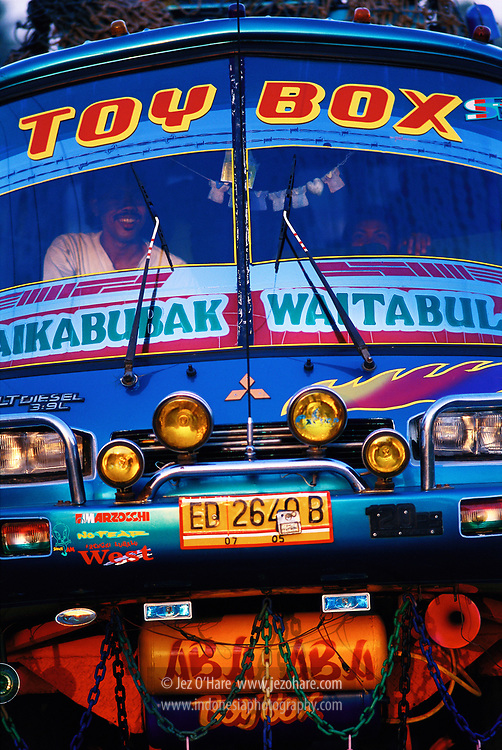 Bus, Sumba, East Nusa Tenggara, Indonesia.