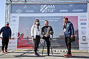 Foto Massimo Paolone/LaPresse <br /> 17 ottobre 2021 Roma, Italia <br /> sport <br /> Roma Ostia Half Marathon 2021<br /> Nella foto: Andrea Pusateri durante la cerimonia di premiazione<br /> <br /> Photo Massimo Paolone/LaPresse <br /> October 17, 2021 Rome, Italy <br /> sport <br /> Roma Ostia Half Marathon 2021 <br /> In the pic: Andrea Pusateri during the award ceremony