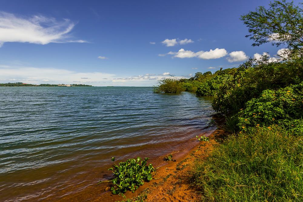 Lake Victoria from Entebbe Botanical Gardens, Uganda.