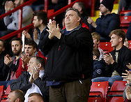 Fans during a minutes applause during the English Football League One match at Bramall Lane, Sheffield. Picture date: December 10th, 2016. Pic Jamie Tyerman/Sportimage