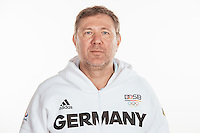 Dr. Michael Tank poses at a photocall during the preparations for the Olympic Games in Rio at the Emmich Cambrai Barracks in Hanover, Germany, taken on 20/07/16 | usage worldwide