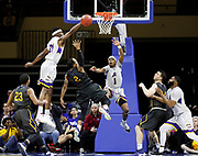 LSU Alexandria plays Graceland (Iowa) during the second half of the NAIA championship men's college basketball game, Tuesday, March 20, 2018, in Kansas City, Mo. (AP Photo/Colin E. Braley)