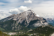 Scenic View From Sulphur Mountain