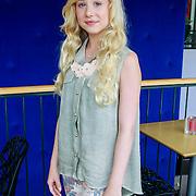 NLD/Hilversum/20130822 - Cast nieuwe TROS-jeugdserie CAPS CLUB, Leonie Elbert