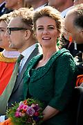 Koningsdag in Dordrecht / Kingsday in Dordrecht<br /> <br /> Op de foto / On the photo: Prins Bernhard jr.en prinses Annette