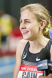 New Balance Indoor Grand Prix Track, Mary Cain