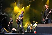 Postgirobygget skapte stor stemning natt til lørdag. Sommerfestivalen i Selbu 2009. Foto: Bente Haarstad Postgirobygget. Sommerfestivalen i Selbu er en av Norges største musikkfestivaler. Sommerfestivalen is one of the biggest music festivals in Norway.