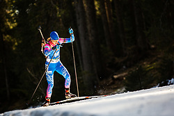 Irina Starykh (RUS) during the Women 15 km Individual Competition at day 2 of IBU Biathlon World Cup 2019/20 Pokljuka, on January 23, 2020 in Rudno polje, Pokljuka, Pokljuka, Slovenia. Photo by Peter Podobnik / Sportida