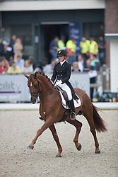 Darcourt Caroline, SWE, Sankt Erik II<br /> World Championship Young Dressage Horses <br /> Ermelo 2016<br /> © Hippo Foto - Leanjo De Koster<br /> 29/07/16