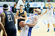 DESCRIZIONE : Cantu Lega A 2013-14 Acqua Vitasnella Cantu Sutor Montegranaro<br /> GIOCATORE : Maarten Leunen<br /> CATEGORIA : Ritratto Esultanza<br /> SQUADRA : Acqua Vitasnella Cantu<br /> EVENTO : Campionato Lega A 2013-2014<br /> GARA : Acqua Vitasnella Cantu Sutor Montegranaro<br /> DATA : 29/12/2013<br /> SPORT : Pallacanestro <br /> AUTORE : Agenzia Ciamillo-Castoria/G.Cottini<br /> Galleria : Lega Basket A 2013-2014  <br /> Fotonotizia : Cantu Lega A 2013-14 Acqua Vitasnella Cantu Sutor Montegranaro<br /> Predefinita :