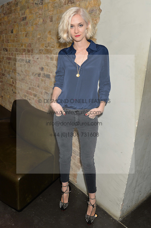 PORTIA FREEMAN at the Lancôme pre BAFTA party held at The London Edition, 10 Berners Street, London on 14th February 2014.