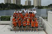 2004 Miami Hurricanes Swimming & Diving Photo Day