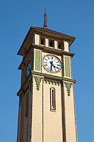 Purcell Clock Tower was a gift to the city of Pyin Oo Lwin from Queen Victoria who made a habit out of giving out these things to the colonies.  There are similar towers in Penang, Cape Town, and the Seychelles.