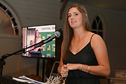 Hinds captain Anlo van Deventer speaks, Central Districts Cricket Awards Dinner, The Old Church, Napier, Friday, March 22, 2019. Copyright photo: Kerry Marshall / www.photosport.nz