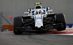 November 23, 2018 - Abu Dhabi, United Arab Emirates - Motorsports: FIA Formula One World Championship 2018, Grand Prix of Abu Dhabi, World Championship;2018;Grand Prix;Abu Dhabi,  , #35 Sergey Sirotkin (RUS Williams Mercedes, Mercedes) (Credit Image: © Hoch Zwei via ZUMA Wire)