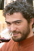 Olivier Pithon of the domaine with his name, Domaine Olivier Pithon, Roussillon, France