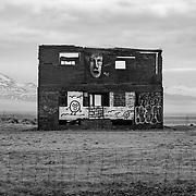 Abandoned farmhouse near Hofn, Southeast Iceland