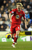 Photo: Gareth Davies.<br />Reading v Blackburn Rovers. The Barclays Premiership. 16/12/2006.<br />Blackburn's Robbie Savage.