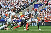 "Twickenham; GREAT BRITAIN;  Baa Baa's. Timoci NAGUSA, breaking free, during the  England vs Barbarians [Baa Baa's],  at Twickenham Stadium; Surrey on, Sunday  26/05/2013   [Mandatory Credit; ""Photo, Peter Spurrier/Intersport-images]"