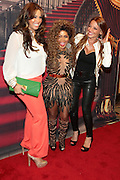 May 18, 2012 -New York, NY-United States: (L-R) Recording Artist/Television Personality Somaya Reece, Recording Artist/Actress Lil' Kim and Docudrama personality Drita D'Avanzo attend the Lil' Kim performance as part of her ' Return of the Queen Tour ' held at Paradise Theater on May 18, 2012 in the Bronx, NY. Consistently recognized as a trailblazing Female MC, Lil'Kim has been a member of the clic, Junior MAFIA, headed by the late Notorious B.I.G. and has released 3 RIAA certified platinum albums to date. (Photo by Terrence Jennings)
